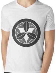 Bamboo (Grey) Mens V-Neck T-Shirt