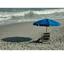 Shadow in the Sand Photographic Print