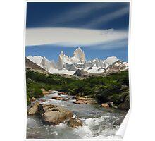 Monte Fitz Roy - Fitz Roy National Park - Argentina Poster