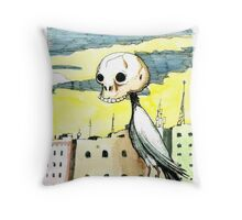 Deadly Disguise Throw Pillow