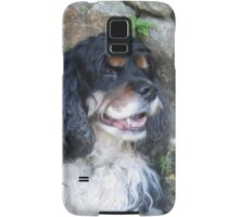 Tri Color Spaniel Samsung Galaxy Case/Skin