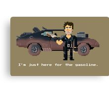 Max - Mad Max 2 Pixel Art Canvas Print