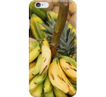 Bananas on a Stalk at the Market iPhone Case/Skin