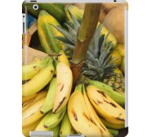 Bananas on a Stalk at the Market iPad Case/Skin