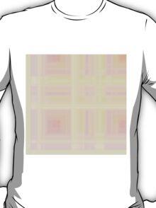 Rose-Pink Plaid T-Shirt