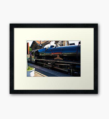 Steam at Grosmont Framed Print