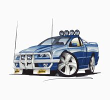 Ford Falcon XR8 Ute Blue T-Shirt