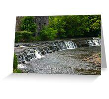 Bainbridge Falls Greeting Card