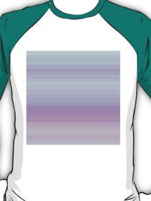 Spring-Summer Colour Stripes (Purple-Violet-Cyan) T-Shirt