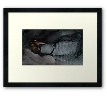 WASHEDUP Framed Print