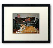 At Home Framed Print