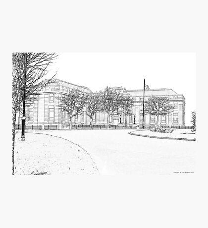 Barrow Library Photographic Print