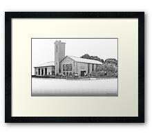 Barrow Babtist church Framed Print