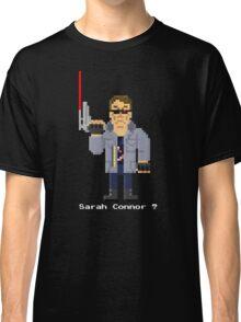 T800 - Terminator Pixel Art Classic T-Shirt