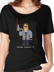 T800 - Terminator Pixel Art Women's Relaxed Fit T-Shirt