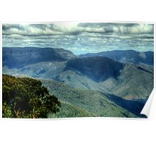 Where Mountain Ash and Kurrajong Grew Wide - High Country - The HDR Experience Poster