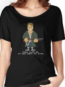 Kyle Reese - Terminator Pixel Art Women's Relaxed Fit T-Shirt