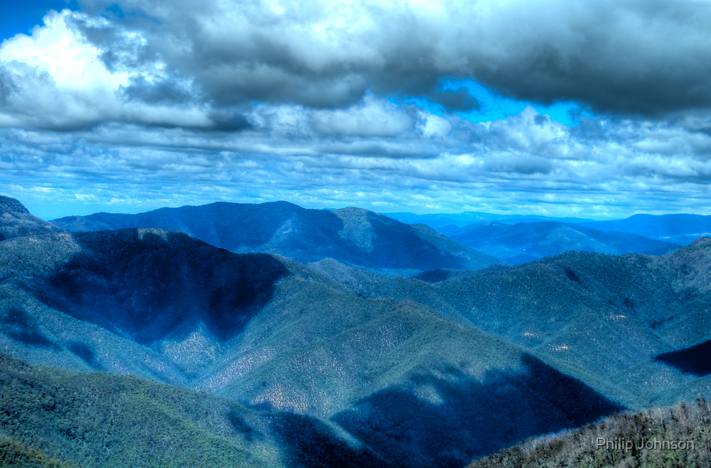 """He hails from Snowy River, up by Kosciusko's side - Victorian Alps Summer -The HDR Experience by Philip Johnson"