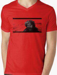Toecutter Mens V-Neck T-Shirt
