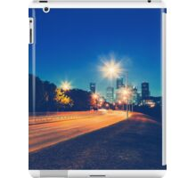 Driving in Houston at Night iPad Case/Skin