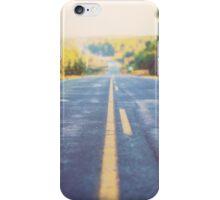 Road in the Algonquin park in Canada iPhone Case/Skin