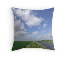 Fenland, Cambridgeshire, UK Throw Pillow