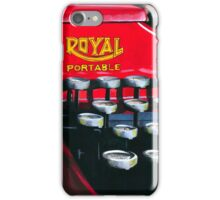 Red Royal iPhone Case/Skin