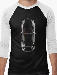 Porsche Cayman Overhead Men's Baseball ¾ T-Shirt