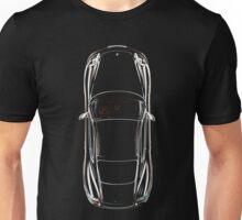 Porsche Cayman Overhead Unisex T-Shirt