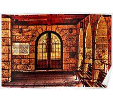 Medieval Church St Petka Kelemegdan Fortress Belgrade Poster