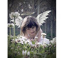 Lil Angel Photographic Print