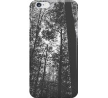 Black and white Forest iPhone Case/Skin