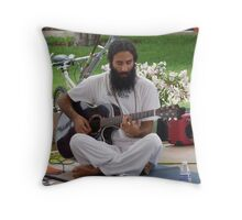 Live Music For The Heart, Soul, Body And Mind ... Throw Pillow