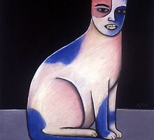 Cat with Glitterlips by Grove Wiley