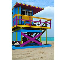 South Beach, Miami Photographic Print