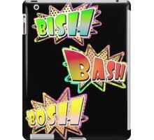 BISH BASH BOSH  iPad Case/Skin