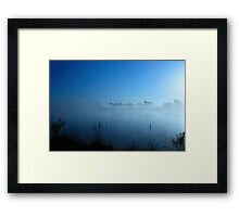 Monument Lake  Framed Print