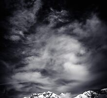 Mountains in Black and white by Giorgio Fochesato