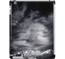 Mountains in Black and white iPad Case/Skin