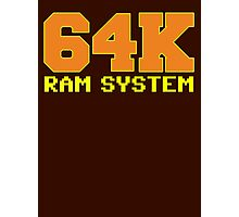 Commodore 64k RAM System Photographic Print