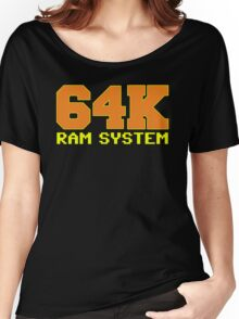 Commodore 64k RAM System Women's Relaxed Fit T-Shirt