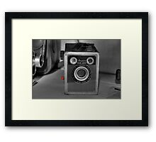 Ansco Framed Print