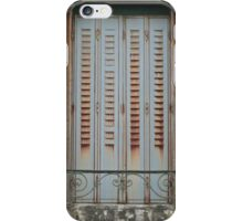 Once upon a time behind the shutters iPhone Case/Skin