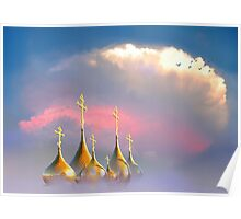 Christian Domes Poster