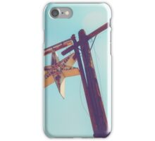 Abandoned Star Sign on the Route 66 iPhone Case/Skin