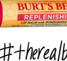 Burt's Bee's the Real Bae Sticker