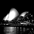Sydney Opera House at Night by Joshdbaker