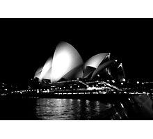 Sydney Opera House at Night Photographic Print