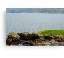 Port Isaac Bench Canvas Print