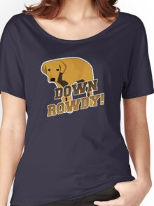 Down Rowdy the Dog Women's Relaxed Fit T-Shirt